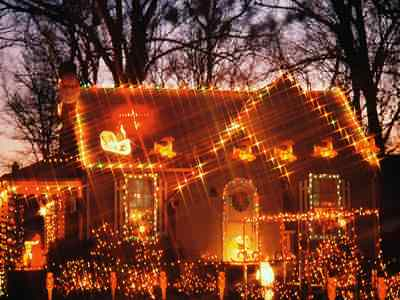 Christmas lights Jigsaw Puzzle - JigZone.com