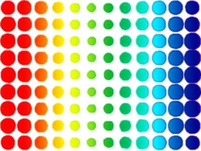 Rainbow Dots Jigsaw Puzzle Jigzone Com