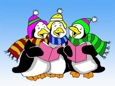 Singing Penguins Jigsaw Puzzle - JigZone.com