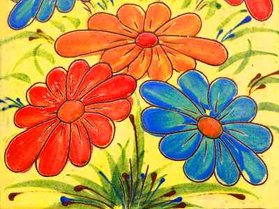 Flower Art Jigsaw Puzzle - JigZone.com - photo #3