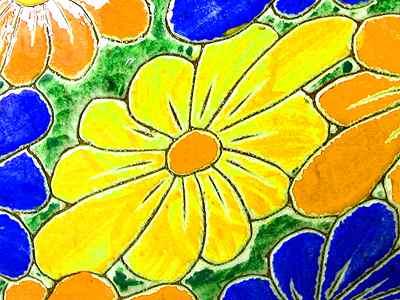 Flower Art Jigsaw Puzzle - JigZone.com - photo #2