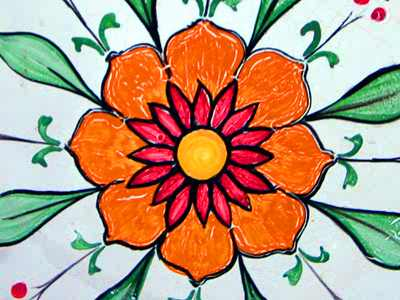 Flower Design 50 Piece Circles Jigsaw Puzzle - JigZone.com - photo #13