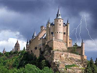 Alkazar Castle Spain Jigsaw Puzzle Jigzone Com