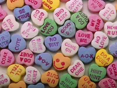 Valentine Candy Hearts Jigsaw Puzzle   JigZone.com