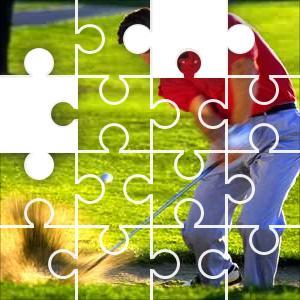 Sand Trap Shot Jigsaw Puzzle Jigzone Com