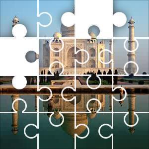 Taj Mahal Jigsaw Puzzle Jigzone Com