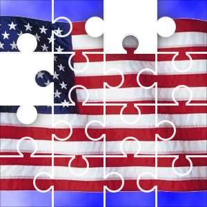 United States Piece USA Jigsaw Puzzle JigZonecom - United states map jigsaw puzzle online