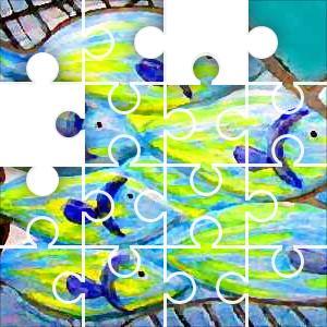 Fish Art Jigsaw Puzzle - JigZone.com - photo #25