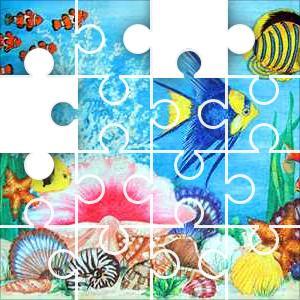 Undersea Scene Jigsaw Puzzle - JigZone.com - photo #43