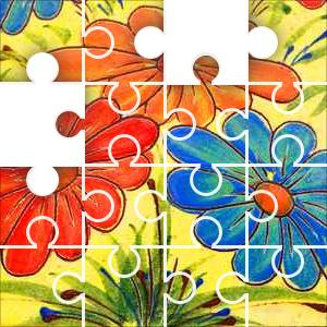 Flower Art Jigsaw Puzzle - JigZone.com - photo #8