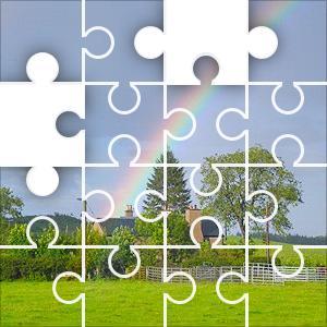 Rainbow House Jigsaw Puzzle - JigZone.com - photo #30