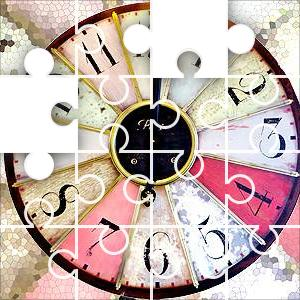 Image result for Clock Face Wedges Jigsaw Puzzle
